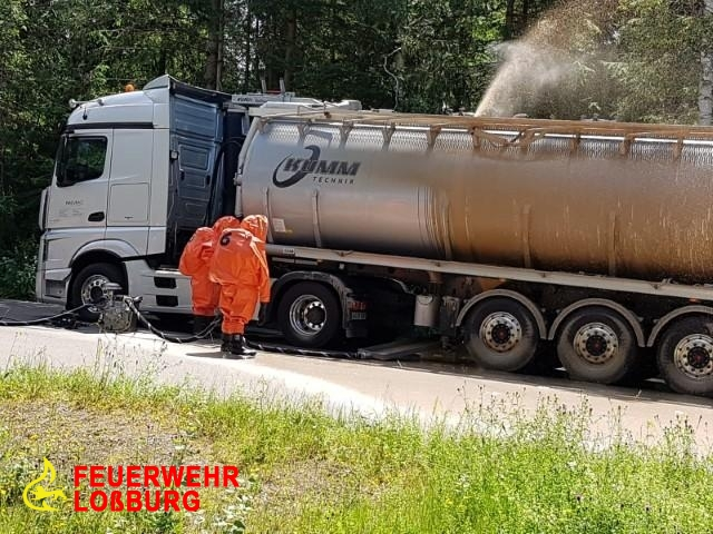 Umwelt-/Gefahrguteinsatz